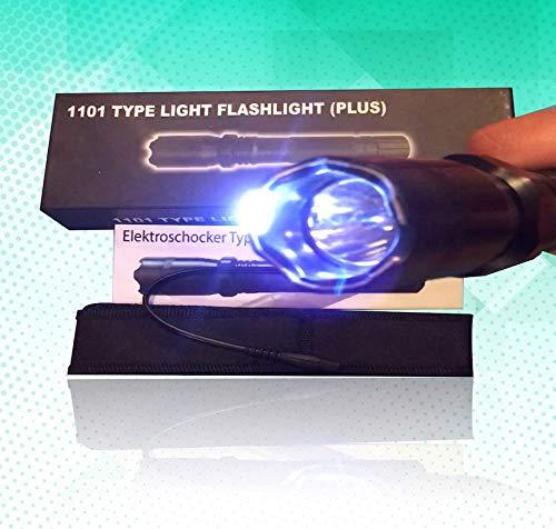 Cree Led Elektro Taschenlampe Police Flashlight Security Sicherheitsdienst 1000 Lumen - Led-taschenlampe Elektroschocker