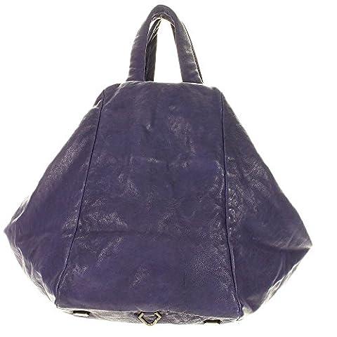 Liebeskind Toda Shopper Sac à main Fourre-tout cuir 40 cm iris purple