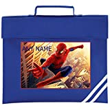 Best Spider-Man Book Bags For Boys - Personalised SPIDERMAN Style School Book Bag *Choice of Review