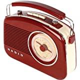 Vintage 3 Band Retro Radio (FM, LW, MW)