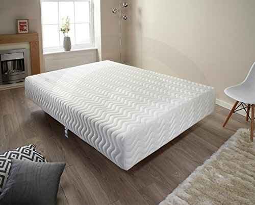 3ft 4ft6 5ft 6ft Pure Relief Memory Foam Mattress for Extra Support [Energy Class A+++] (King Size (5'0))