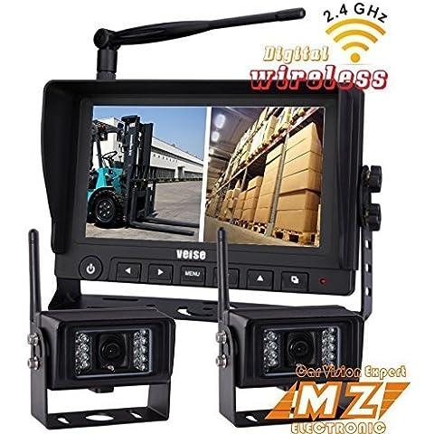 Wireless retromarcia Backup Camera Kit sistema wireless digitale, schermo 7