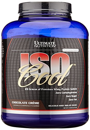 Ultimate Nutrition IsoCool Chocolate Creame, 1er Pack (1 x 2.3 kg), 3004383660