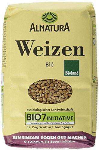 Alnatura Getreide, Weizen, 6er Pack (6 x 1 kg)