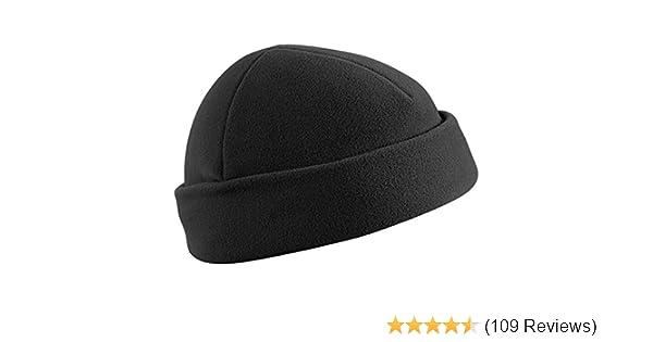 Commando Watch Cap Docker Hat Work Beanie Helikon Black  Amazon.co.uk   Clothing 7c5abe5f1f4f