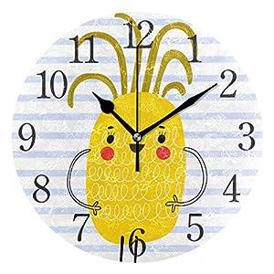 Xukmefat Reloj de Pared Piña