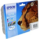 Epson 4 Stylus SX515W Original Printer Ink Cartridges - Cyan/Yellow / Magenta/Black