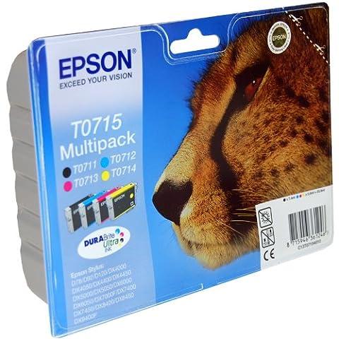 Epson 239 ml Original Ink Cartridges for Epson Stylus BX300f Printer Pack 4 CyanYellowMagentaBlack