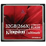 Kingston CF/32GB-U2 Carte CompactFlash Ultimate 266x - 32 Go