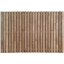Sauna tappetino da bagno tappeto 40x60 cm Striscia di bambù Ecologico durevole e pratico