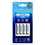cellePhone Batterie-Set Ni-MH Mignon AA Sanyo Eneloop ( BK-4MCCE ) y compris le chargeur ( BQ-CC51 )