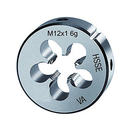 Filière métrique à pas fin, HSS-E, Filetage : M24, Pas 1,50 mm, Ø extérieur x hauteur 55 x 16 mm