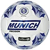 Munich Precision - Balón de fútbol sala, color blanco, 62 cm