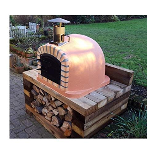 Lisboa Wood-Fired Bread, Meat, Pizza Fish Outdoor Oven 90 cm Real Wood Real Flavor Escape The Indoors TM Free Pizza Peel