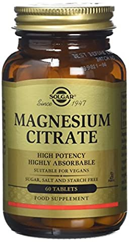 Solgar Magnesium Citrate Tablets - Pack of 60