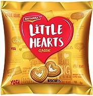 بسكويت بريتانيا باشكال قلوب صغيرة 50.5 غرام
