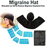 Praha Migraine Relief Cooling Wearable Ice Hat To Reduce Migraine Headache Pain