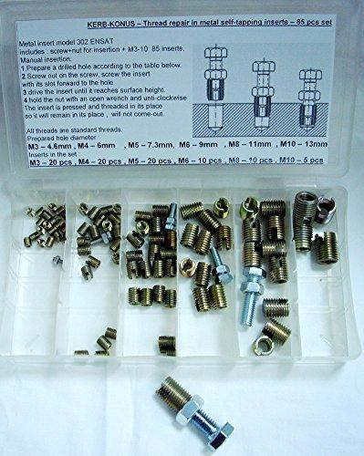 Forme DIN 653/Inox A2 Lot de 5/vis molet/ées m3/x 10/niedr