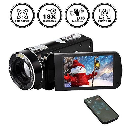 videocámaras Digital Video Cámara FHD 1080p 24MP Belleza Cara Cámara Salida HDMI Con Control Remot