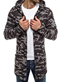 OZONEE Herren Kapuzenpullover Hoodie Sweatshirt Assanin's 0815 S BRAUN