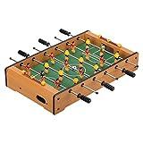 """Virhuck Mini Tischplatte Tischkicker Tischbillard, Indoor & Outdoor Tisch Fußball Spiel Set für Kinder (19"""" Football)"""