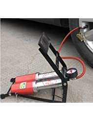 Auto aire compresores port¨¢tiles bomba de alta presi¨®n para tubos de doble y doble tambor pedales bicicleta motocicleta bomba de aire de pie , 1