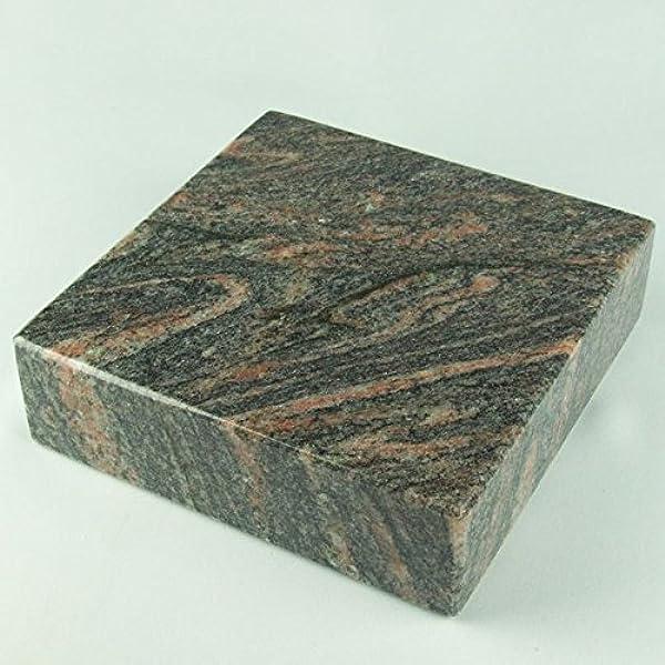 Grabvase Grablaterne Grableuchte Set Grablampe Granit Himalaya