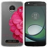 Easbuy Handy Hülle Soft Silikon Case Etui Tasche für Lenovo Motorola Moto Z Play Z Force Z Force Droid Smartphone Cover Handytasche Handyhülle Schutzhülle
