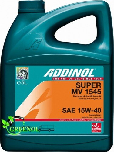 Addinol SUPER MV 1545 15 W-40, 5 l pas cher