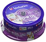 Verbatim 43667 D/L Printable DVD+R Ro...