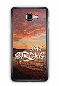 YuBingo Stay Strong Designer Mobile Case Back Cover for Samsung Galaxy A9
