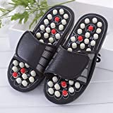 Wefuse Paduka/Acupressure Sandals/Foot Massager Slipper/Acupressure Foot Relaxer/Rotating Acupressure Foot Slippers for Men & Women (Free Size) Premium Quality