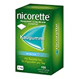 Nicorette 2 mg whitemint Kaugummis, 105 St.