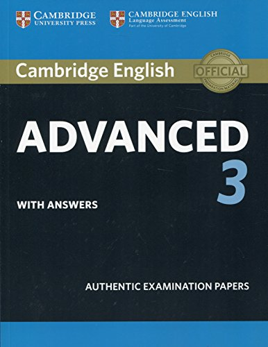 Cambridge English Advanced 3 Student's Book with Answers (CAE Practice Tests) por Cambridge Assessment