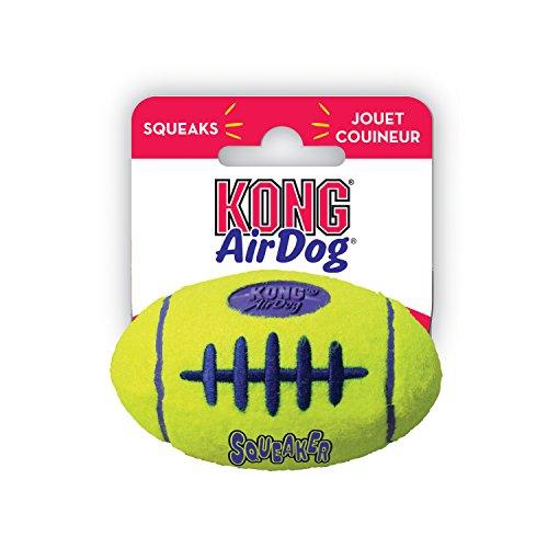 Kong 907-8995 Airdog Football Squeaker Pequeno 1U