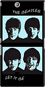 DailyObjects The Beatles Blue Case For Sony Xperia Z Ultra