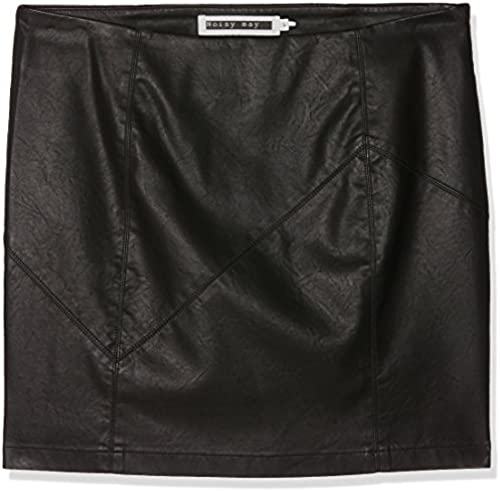 Noisy may Damen Nmrebel Pu Nw Short Skirt Noos Rock