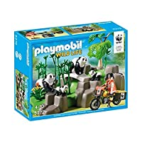 Playmobil 5272 WWF Pandas in Bamboo Forest