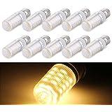 10 X E27 Bombilla Luz Spotlight 5050 SMD 36 LED 6W Blanco Cálido