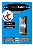 ANTIBAKTERIELLE CrystalClear Displayschutzfolie für Notebooks mit 43.9 cm (17.3 Zoll) Displays [383 x 215 mm, Seitenverhältnis 16:9]