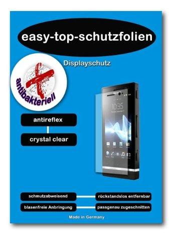 ANTIBAKTERIELLE CrystalClear Displayschutzfolie für ZTE Base Tab