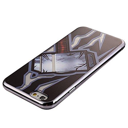 iPhone 6/6S 4,7 Coque, Voguecase TPU avec Absorption de Choc, Etui Silicone Souple, Légère / Ajustement Parfait Coque Shell Housse Cover pour Apple iPhone 6/6S 4,7 (ME TOO)+ Gratuit stylet l'écran alé Marteau d'éclairs