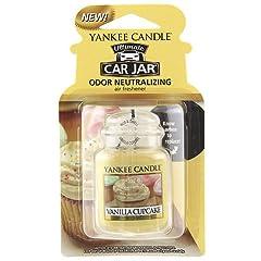 Idea Regalo - yankee candle 1220923E Deodoranti per Auto, Car Vaso Ultimate, Vanilla Cupcake
