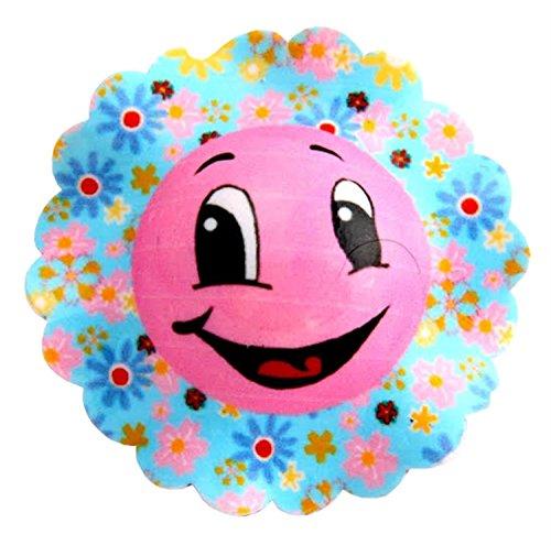 heln Lachen Wütend Gesicht Emotionen Haar Clips Haar Zubehör Baby Pink-Smiling (Wütend Baby-gesicht)