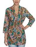 MEXX Damen Bluse, N1ME5273, Gr. 42 (XL), Violett (209)