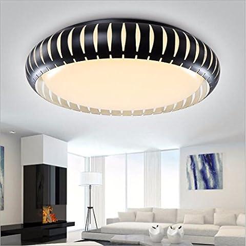 Eclairage de Plafond Led liwenlong lampe de table, lampe de salon, lampe,trois couleur light,56cm
