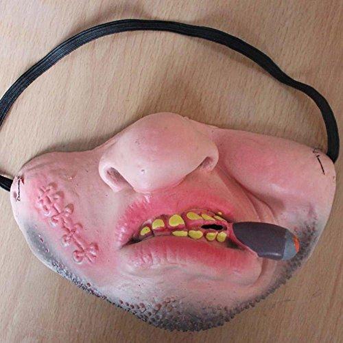 n-ganze lustige Maske Latex-halbe Gesichtsmaske-Tanz-Leistung verkleiden die lustige Person-Masken-Halloween-Maske (15) (Halloween Kostüme Für 8 Personen)