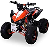 Kinder Quad S-12 125 cc Motor Miniquad 125 ccm orange/weiß Panthera