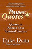 Power Quotes: Quotes to Release Your Spiritual Success (English Edition)