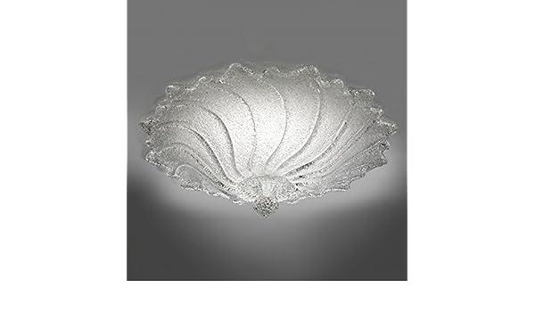 Plafoniere Vetro Di Murano Offerte : Plafoniera cometa cristallo: amazon.it: illuminazione